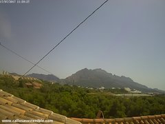 view from Callosa d'en Sarrià - Serra de Bèrnia on 2017-07-17