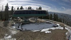 view from Angel Fire Resort - Chile Express on 2017-11-14