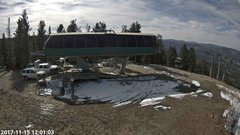 view from Angel Fire Resort - Chile Express on 2017-11-15