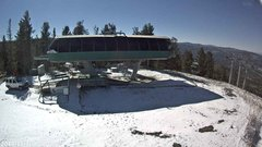 view from Angel Fire Resort - Chile Express on 2017-11-18