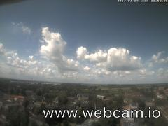 view from Wasserturm Wedel on 2017-07-14
