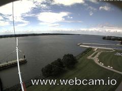 view from Willkommhöft Westen  on 2017-08-04