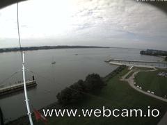 view from Willkommhöft Westen  on 2017-09-17