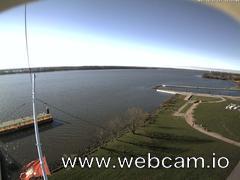 view from Willkommhöft Westen  on 2017-11-13
