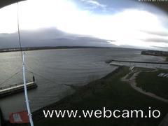 view from Willkommhöft Westen  on 2017-11-19