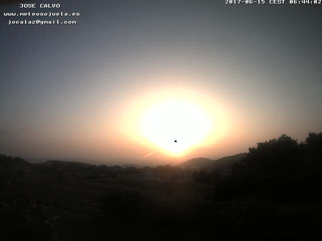 time-lapse frame, SOJUELA webcam