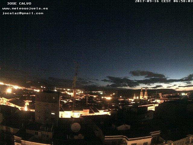 time-lapse frame, LOGROÑO webcam