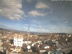view from LOGROÑO on 2018-01-22