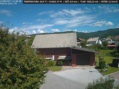 view from VREME ŽIRI-cam-1-SV on 2017-08-14