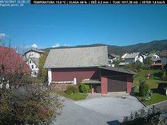 view from VREME ŽIRI-cam-1-SV on 2017-10-09