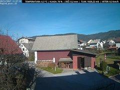 view from VREME ŽIRI-cam-1-SV on 2017-11-20