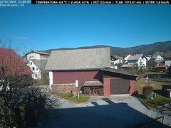 view from VREME ŽIRI-cam-1-SV on 2018-01-22