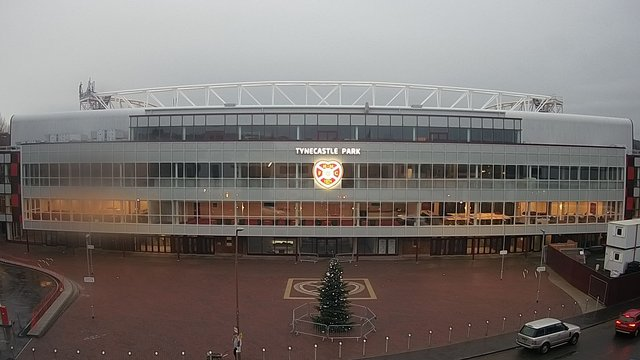 time-lapse frame, Hearts FC 2 webcam