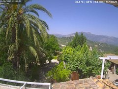 view from Benillup - Serra de Mariola on 2017-06-15