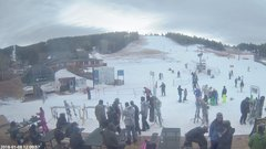 view from Angel Fire Resort - Base on 2018-01-08