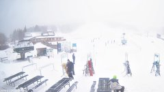 view from Angel Fire Resort - Base on 2018-01-21