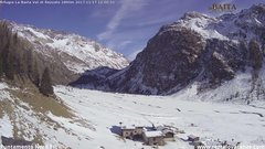 view from Val di Rèzzalo NE on 2017-11-17