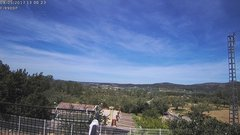 view from Agres - Bonell, el Comtat on 2017-05-08