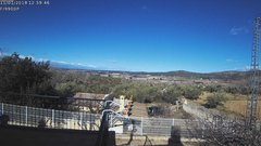 view from Agres - Bonell, el Comtat on 2018-01-11