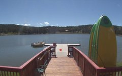 view from Angel Fire Resort - Monte Verde Lake on 2017-09-18