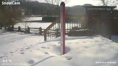 view from Deck-Dock Cam on 2018-01-21