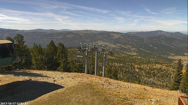 time-lapse frame, Angel Fire West View webcam
