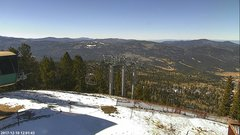 view from Angel Fire West View on 2017-12-10