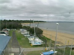 view from Cowes Yacht Club - West on 2017-12-10