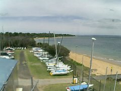 view from Cowes Yacht Club - West on 2017-12-16