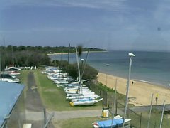 view from Cowes Yacht Club - West on 2017-12-17