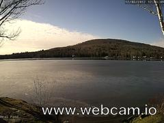 view from Neal Pond on 2017-12-03