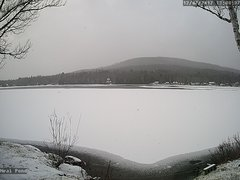 view from Neal Pond on 2017-12-07