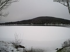 view from Neal Pond on 2017-12-09
