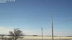view from Ewing, Nebraska (west view)   on 2018-01-01
