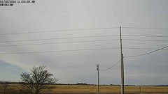 view from Ewing, Nebraska (west view)   on 2018-01-20
