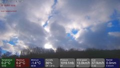 view from MeteoLive webcam SEREMANGE ERZANGE FR57 on 2017-12-09