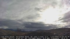 view from Horseshoe Bend, Idaho CAM2 on 2018-01-12