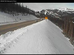 view from 4 - Highway 50 Road Conditions on 2017-11-20