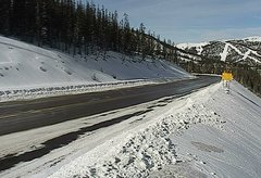 view from 4 - Highway 50 Road Conditions on 2018-01-08