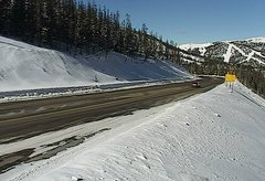 view from 4 - Highway 50 Road Conditions on 2018-01-15