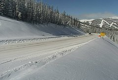 view from 4 - Highway 50 Road Conditions on 2018-01-22