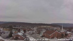 view from Highland Park Hose Co. #1 on 2018-01-15