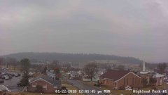 view from Highland Park Hose Co. #1 on 2018-01-22
