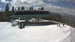 view from Angel Fire Resort - Chile Express on 2018-03-14