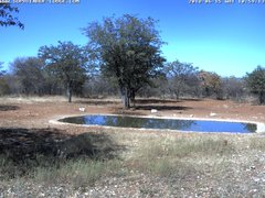 view from Sophienhof Lodge Waterhole on 2018-06-15
