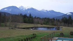 view from Olympic View Cabins Hurricane Ridge Cam on 2018-03-07