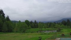 view from Olympic View Cabins Hurricane Ridge Cam on 2018-05-19