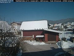 view from VREME ŽIRI-cam-1-SV on 2018-02-14