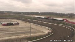 view from Eldora Speedway on 2018-04-09