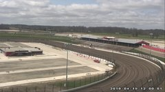 view from Eldora Speedway on 2018-04-19